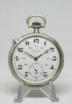 Longines cal.18.69N Military Awarded Pocket Watch Good Beautiful Condition - $549.70