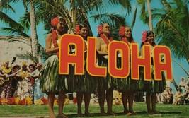 Kodak Hula Show at Waikiki Hawaii Aloha Postcard  - $9.99