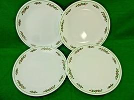 Vintage 1970's Mid-Century Corelle Holly Days Christmas Dinner Plates Se... - $28.30
