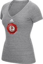 NWT NBA Dallas Mavericks Women's Size XL Gray Short Sleeve V-Neck Tee Shirt - $16.95