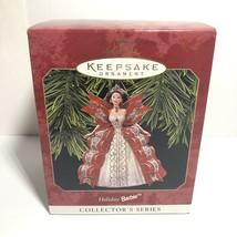 Hallmark Keepsake Ornament Holiday Barbie 5th in Series Christmas 1997 -... - $11.87