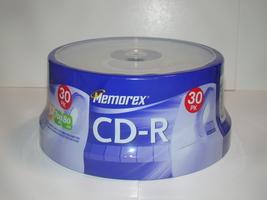 Memorex - CD-R - 52X 700MB 80min - 30PK (New) - $18.00