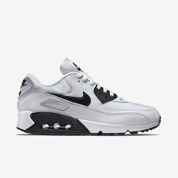 235acff4eed8 Nike Air Max 90 Essential WHITE BLACK Shoes and 8 similar items. S l1600