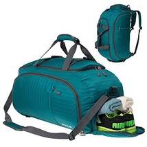 SKYLE 3-Way Gym Sport Bag Travel Duffel Bag Backpack with Shoe Compartme... - $33.71
