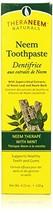 TheraNeem Mint Toothpaste - 4.23 oz - Paste - $11.21