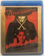 V For Vendetta (Blu-ray Disc, 2008) Natalie Portman, Hugo Weaving, John ... - $5.65