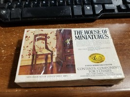 Lot Of Vintage The House Of Miniatures 40007 - 40013 - 40012 - 40008 - $15.83