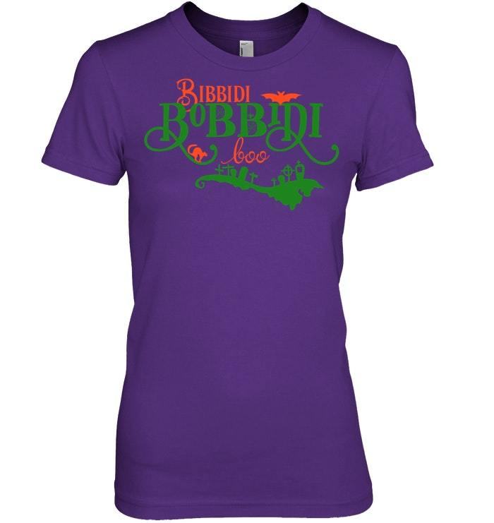 Funny Halloween Tshirt Bibbidi Bobbidi Boo Fairy Tail