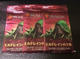 MTG Throne of Eldraine Collector Booster pack 3 pack Japanese ver. - $129.98