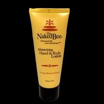 The Naked Bee Orange Blossom Honey Hand & Body Lotion 2.25 oz Moisturizi... - $7.43