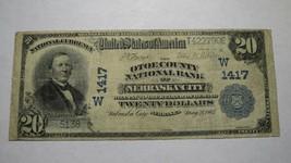 $20 1902 Nebraska City Nebraska NE National Currency Bank Note Bill! Ch.... - $280.49