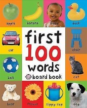 First Words Book Ollie Bollie Book Hardcover Ships N 24h - $11.86