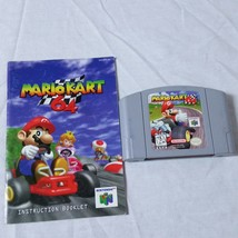 Mario Kart 64 Nintendo 64 1997 N64 Manual Cartridge Video Game - $69.99