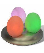 MAGIC EGGS 3 DINOSAUR LED LAMP #CCE001A CHANGES COLORS FREE SHIPPING - $34.10