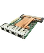 Dell 99GTM X540 Network Card - 2 x 10 GbE - Intel I350 DP Network Daught... - $105.37