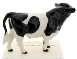 Hagen-Renaker Miniature Ceramic Cow Figurine Holstein Bull image 3