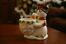 PartyLite Snowbell Votive Holder Party Lite -(m) - $17.99