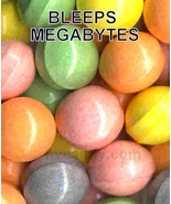Mega Bleeps Bulk vending Machine custom tarty candy - 150 pcs - $34.99