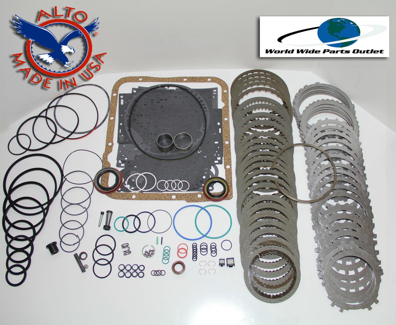 Chevy 4L60E 4L65E 4L70E Transmission Power Pack Deluxe Rebuild Kit 2004-On