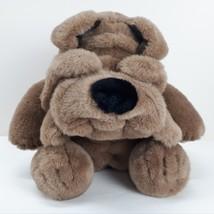 Brown Bulldog Dog Plush Puppy Stuffed Animal Toy Good Quality Super Soft... - $49.40