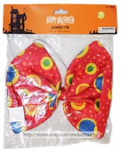 "MOMENTUM BRANDS 12"" JUMBO TIE Clown Costume HAPPY HALLOWEEN Red+Yellow+B... - $3.47"