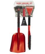 Snow Survival Kit AAA Winter Shovel Glass Scraper Camping Hiking Emergency Gear - $33.81