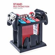 Storage Rack for Nintendo Switch Console Bundle, Storage Station Holder ... - $34.50
