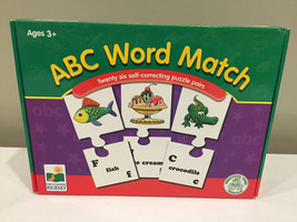 ABC Learning Puzzle Educational ABC Word Match The Learning Journey - $7.79