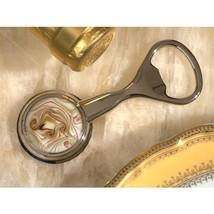 Murano Art Deco Bottle Opener Golden Brown Glass Bead - 84 Pieces - $307.95