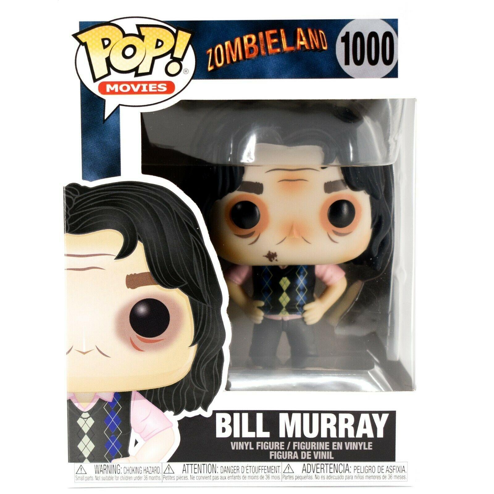 Funko Pop! Movies Zombieland Bill Murray #1000 Vinyl Action Figure
