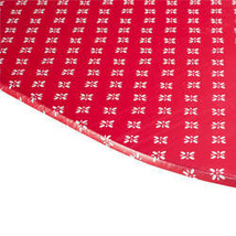 Heritage Vinyl Elasticized Table Cover By Home-Style Kitchen™-42x68-Red - $19.39