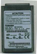 "Toshiba 10GB 4200 RPM,1.8"" HDD1285 MK1504GAL for iPod classic 2nd Gen - $9.93"
