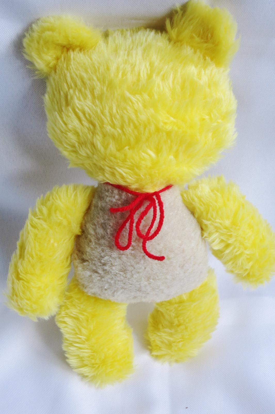 Teddy Bear Doll handmade - decorative dolls - nursery - newborn gift