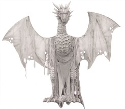 LIFESIZE 7 FT ANIMATED Magic Dragon Halloween Decoration Prop - €330,59 EUR