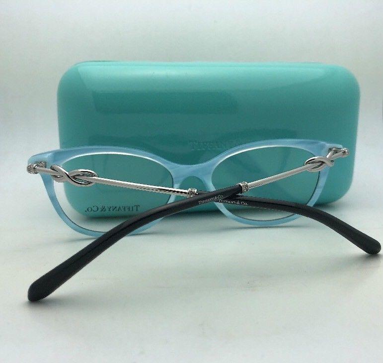 ec8bd2368f TIFFANY   CO. Eyeglasses TF 1111-B 6097 53-17 140 Black   Blue ...