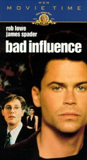 Bad Influence Vhs