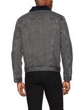 Levi's Men's Classic Button Up Cotton Sherpa Trucker Jacket image 7