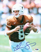 Chris Simms signed Texas Longhorns 8X10 Photo- PSA Hologram (orange jers... - $17.95