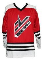 Custom drummondville voltigeurs retro hockey jersey red   1 thumb200