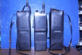 PAIR Realistic handheld TRC-208A 5 watt 6 Channel, Citizens Band Transce... - $89.00
