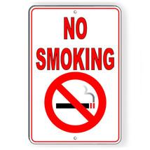 No Smoking Metal Sign Or Decal 7 SIZES vaping premises area warning SNS002 - $5.83+