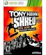 Tony Hawk: Shred (Microsoft Xbox 360, 2010)M - $4.59