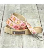 Donuts for Her Jacquard Dog Leash (120cm, 4ft.) / Made in Japan - $36.00