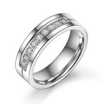 Modyle 2017 New CZ Wedding Rings for Women Men Silver-Color Couple Engag... - $9.95+