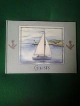 Cape Shore 50-Page Blue Guest Book - $34.30