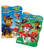 PAW Patrol Board Book Set (2 Shaped Board Books) - $10.99
