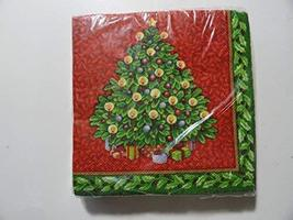24 2-ply Christmas Splendor Beverage Napkins - $5.99