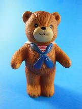 "Rare Vintage 1979  Lucy & me Teddy Bear Sailor Collar Tie 3"" Enesco Rigg... - $6.92"