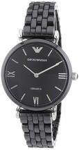 Emporio Armani Women's AR1487 Retro Black Watch - £89.46 GBP