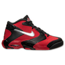 RED 002 Basketball BLK Air Nike Sizes Up Men's Shoes 10 5 630929 11 SLIVR 2014 aO1x7wn